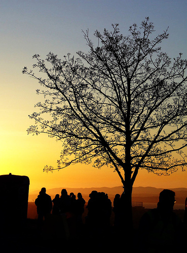 Beltane Sunset (Edinburgh fire festival, 2007) by Patrick2978 on Flickr - CC BY-NC license